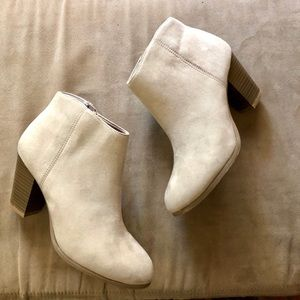 Old Navy suede ankle boot